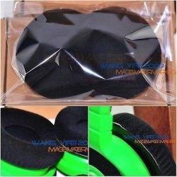 FidgetFidget Soft Velour Replacement Ear Pads Cushion For Razer Kraken Game Gaming Headphones