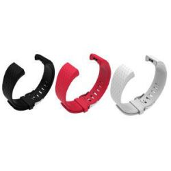 Ladies Silicone Strap For Fitbit Charge 2 S m - 3 For 2 Combo