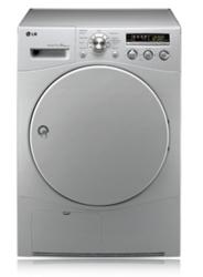 LG RC8043C1Z - 8KG Front Loader Condensing Tumble Dryer