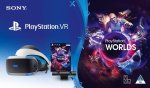 Playstation VR Console V2 + Camera + VR Worlds Psvr