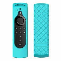 Onefa Protective Silicone Case For Amazon Fire Tv Stick 4K Remote Control Anti Slip Shock Proof Remote Controller Case Cover Shi