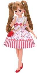 Tomy Takaratomy Licca-chan Dress LW-03 Cherry Berry