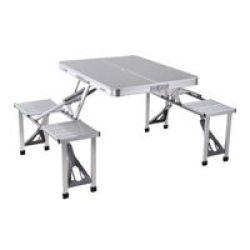 ECO Aluminium Folding Picnic Table And Chairs