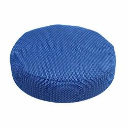 Oraunent Stool Cover Cushion Round Bar Stools Slipcovers Protector For Kitchen Home Office Blue 2XL 40CM
