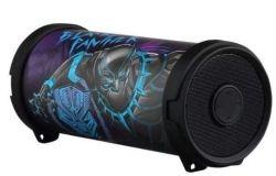 Disney Marvel MINI Tube Bluetooth Speaker - Black Panther
