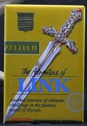 Zelda 2 The Adventure Of Link Refrigerator Magnet.