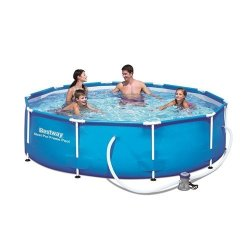 Bestway 4 678L Steel Frame Portable Swimming Pool Set | R2049.00 | Swimming  Pools & Accessories | PriceCheck SA