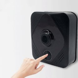 ILS - M8 Smart Wifi Doorbell Two Way Talk Intercom Home Security Video Phone Door Bell Camera Day Night Vision Automatic Switch