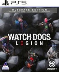 Ubisoft Watch Dogs: Legion - Ultimate Edition - And Unlock The Gold King Pack
