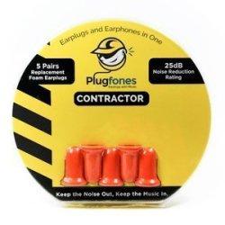 PLUGFONES Contractor Orange Re