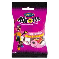 Beacon Sweets Packet MINI Liquorice Allsorts 75 G