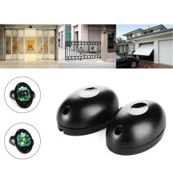 Safety Beam Infrared Photocell Gate & Door Sensor Red Photo Cell Warming