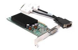 Dell F9595 102A6290300 ATI Radeon X600 Se Pci-e Video Card With DMS-59 To Dual Dvi Y-cable
