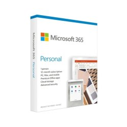 Microsoft Ms 365 Personal Engl Subs 1YR Medialess P6