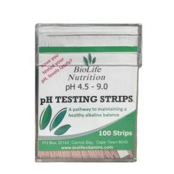 BioLife Nutrition Biolife Ph Testing Strips
