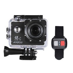 Andoer Action Camera Action Sports AN4000 4K 30FPS 16MP Wifi Camera Full HD 4X Zoom 40M Waterproof 170 Wide Angle Lens 2IN Lcd Screen