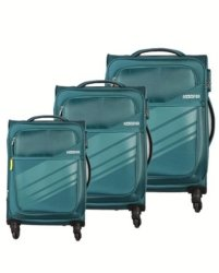 American Tourister Stirling 3 Piece Set Teal