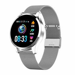 NDGDA Q9 Smartwatch 1.22INCH Color Screen Women Blood Pressure Heart Rate Monitor Smart Watch Fitness Tracker