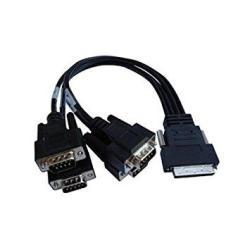 Digi 76000528 4-PORT DB-9M Dte Fan-out Cable For Acceleport Xp 4-PORT