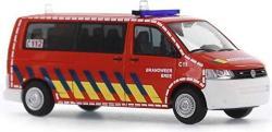 Volkswagen Rietze Automodelle - T5 Gp Bus Lr Red Emergancy Vehicle