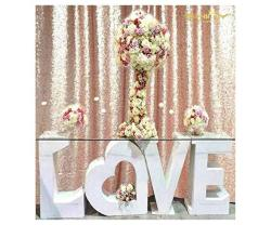 Shinybeauty 6FTX6FT-BLUSH-SIMPLE Sequin Photography Backdrop Sequin Wedding Curtain Sequin Photo Booth Backdrop