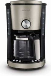 Morphy Richards Evoke 1000W Drip Filter Digital Coffee Maker 1.2LPLATINUM