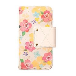 Happymori Multi Case To 5.5INCH Reason Ave. Flying Blossom Pink For Smart Phone
