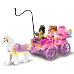 Sluban Girl's Dream - Princess Carriage