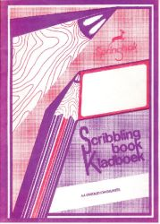 Springbok JD195 72 Page A4 Unruled Scribbling Book 10 Pack