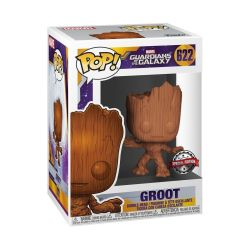 Funko Pop Marvel:guardians Of The Galaxy-groot Special Edition