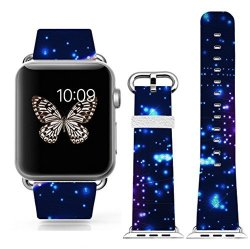 Halloween Gift Happy Christmas Day GIFT.38MM Apple Watch Band For Women Iwatch Strap With Design O