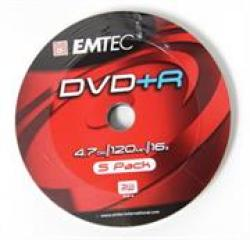Dvd+r 16X Speed 5PK Non-printable No Warranty