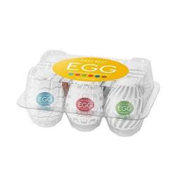 Tenga Easy Beat Egg New Standard Masturbator Six Pack