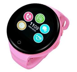 Ameter G7 Gps Tracker Kids Smartwatch 2G Network Only Anti-lost Sos Navigation Social Children Watch Phone With Wifi Pink