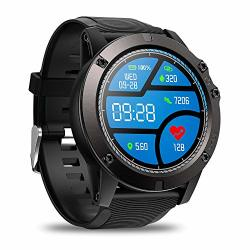 Quakoi Zeblaze Vibe 3 Pro Full Round Touch Real-time Weather Optical Heart Rate All-day Black