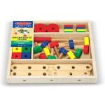 Melissa & Doug Classic Toys - Construction Set In A Box