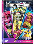 Monster High: Electrified Dvd