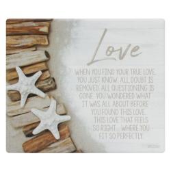 Splosh Ceramic Wall Verse - Love