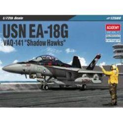 Usn EA-18G VAQ-141 Shadow Hawks Model Kit 1:72