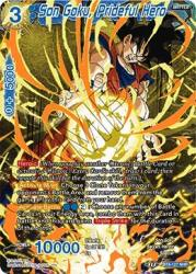 Son Goku Prideful Hero - BT8-127 - Nhr