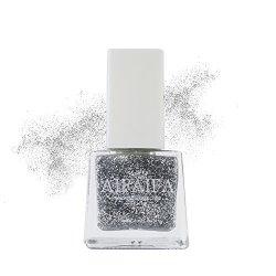 GUANGZHOU FONTRY CHEMICAL INDUSTRY CO ,LTD Aifaifa Water Base Nail Polish  Dance Series Glitter Silver