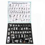 Yeqin 42 Pcs Professional Presser Feet Set Presse Foot Domestic Sewing Machine Foot For Brother Singer Babylock Janome Elna Etc