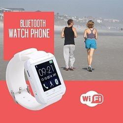 Sudroid Bluetooth Smart Wrist Phone Watch With Touch Screen For Android Samsung Huawei LG Phones And
