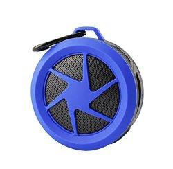 MyNetDeals MINI Water Proof Wireless Bluetooth Speaker For Blackberry Aurora Q10 Z10 DTEK50 Priv Leap Classic Z30 Aristo 9720 Q5 Blue