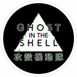 Story Storm Store Ghost In The Shell Glitch Stickers 3 Pcs pack