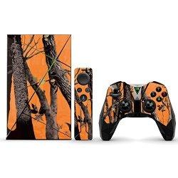 MightySkins Protective Vinyl Skin Decal For Nvidia Shield Tv Wrap Cover Sticker Skins Orange Camo