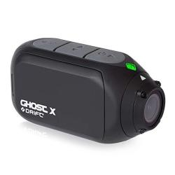 Drift Ghost X Action Camera Full HD 1080P 5 Hour Battery Life Rotating Lens Dashcam Mode Video Tagging Wifi - External Microphone Optional