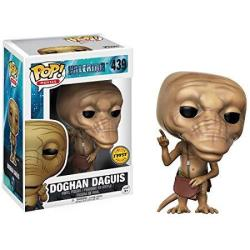 Funko Doghan Daguis Pointing Up Chase Edition : Valerian And The City Of A Thousand Planets X Pop Movies Vinyl Figure & 1 Pop Compatible Pet Plas