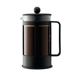 Bodum Kenya 8-CUP French Press Coffee Maker 34-OUNCE Plastic Black