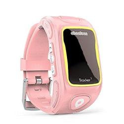 Abardeen KT01W Smart Watch For Kids Tracker Gps Locator Tracker Sos Phone Smartwatch Ios Android Pink